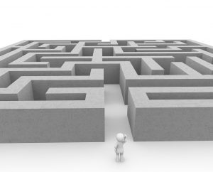 Reinforcement Learning: Life is a Maze